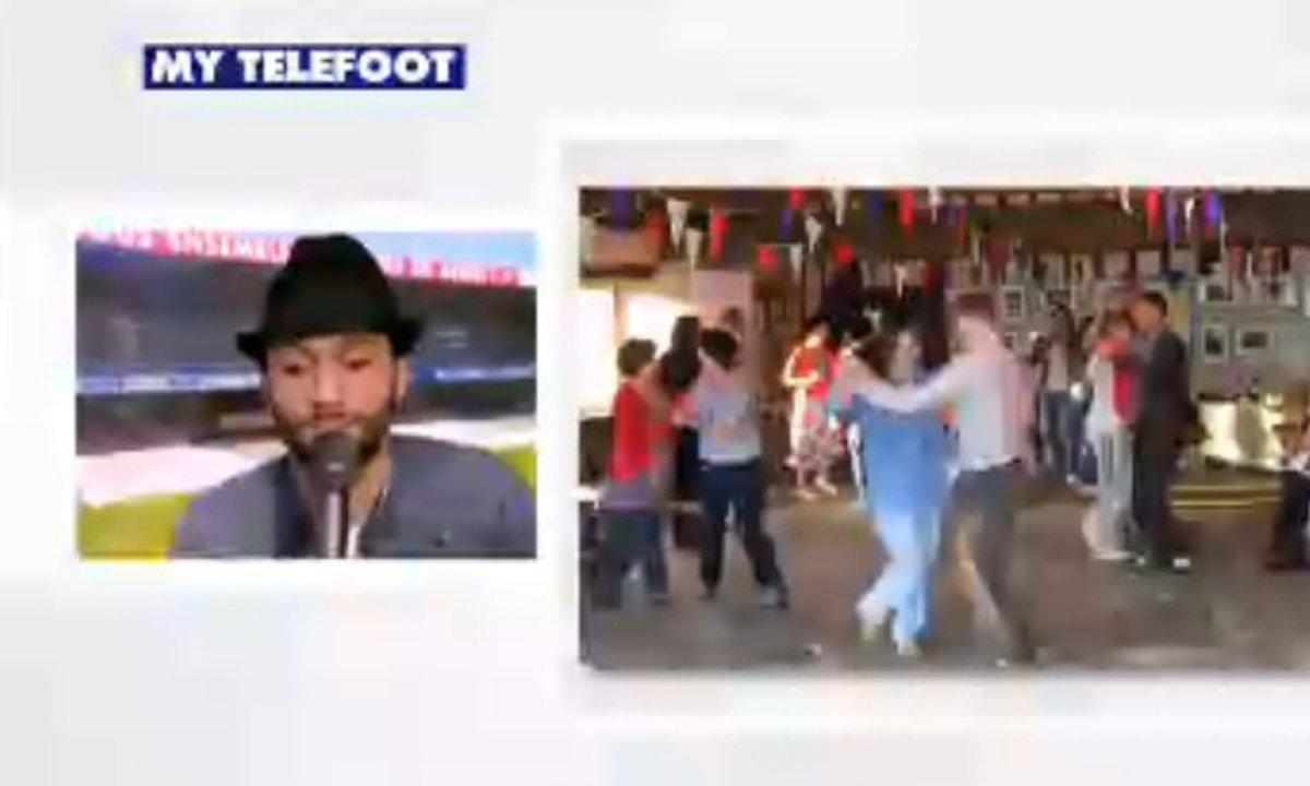 MyTELEFOOT - Le presque duplex de Tony Saint Laurent du 14 décembre 2014