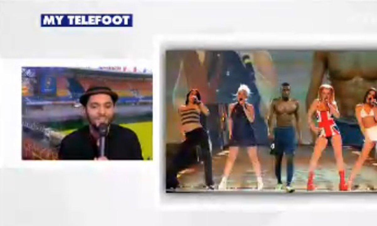 MyTELEFOOT - Tony Saint Laurent en presque duplex du 8 mars 2015