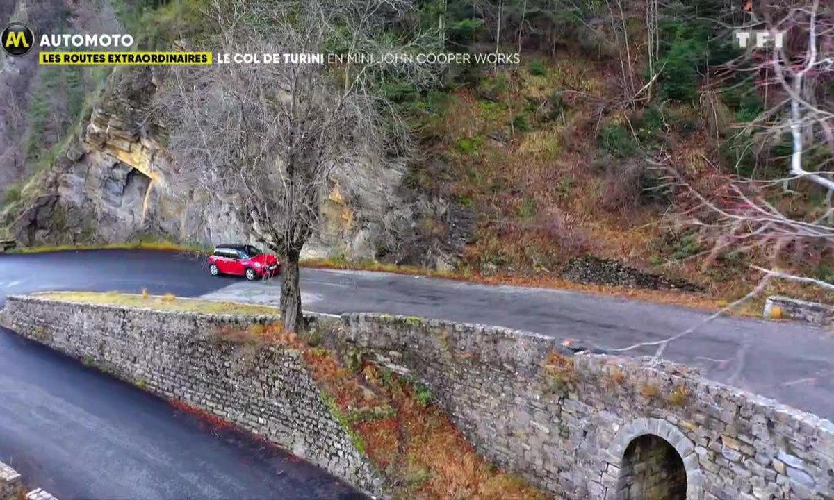 Les routes extraordinaires : le col de Turini en Mini John Cooper Works