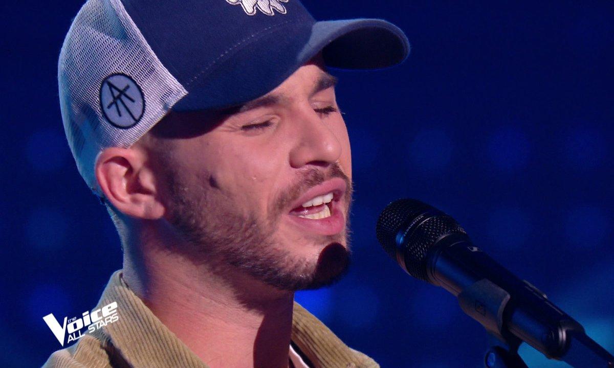 """The Voice All Stars – Antony Trice chante """"Puisque tu pars"""" de Jean-Jacques Goldman"""