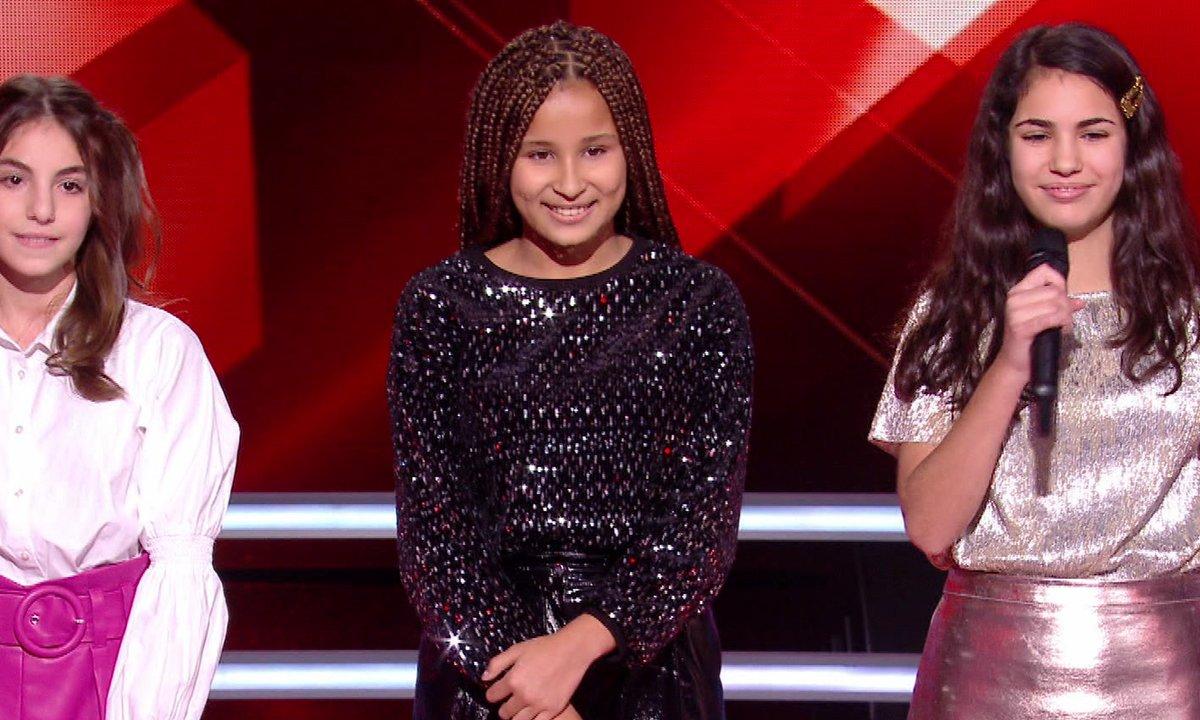 The Voice Kids 2020 – Battle - Sara vs Gabrielle vs Eva chantent « So Am I » d'Ava Max (Team Jenifer)