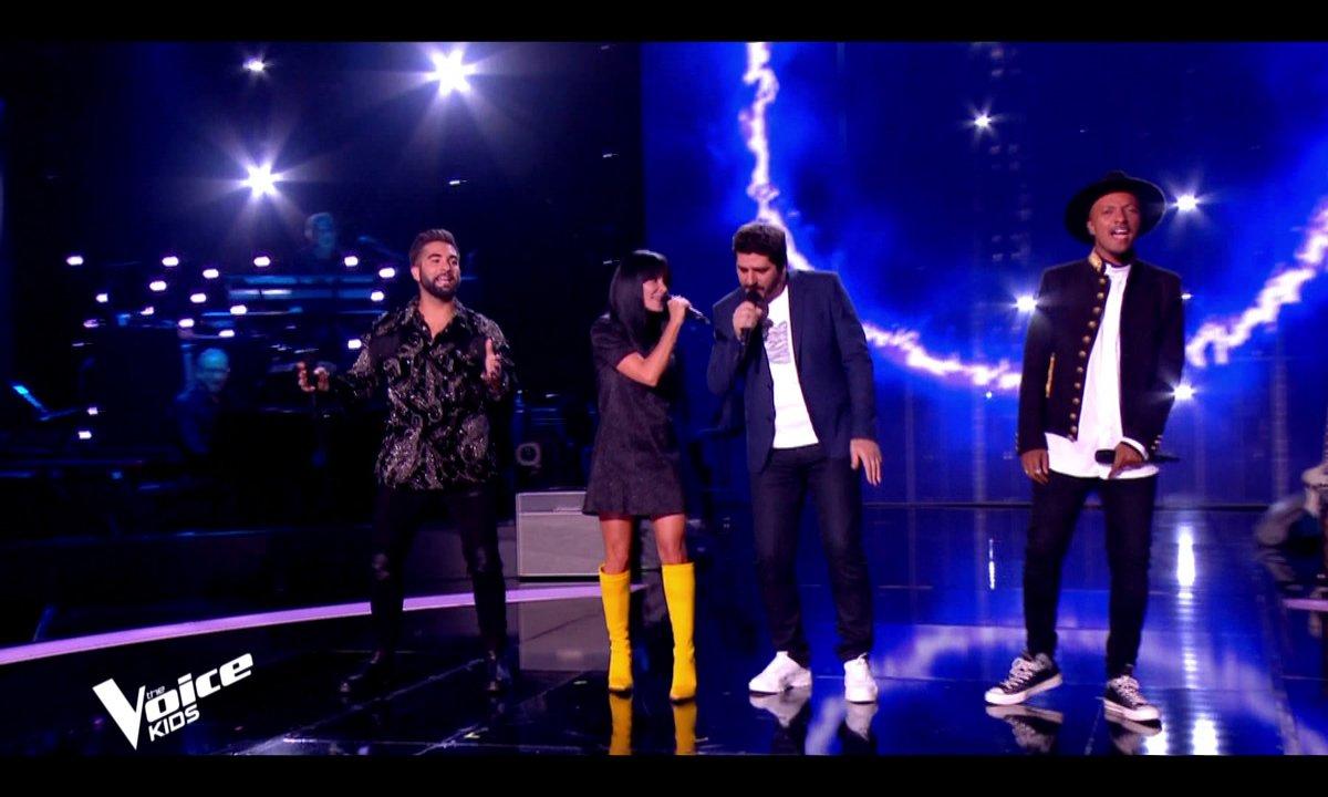 """The Voice Kids 7 - Les coachs ouvrent la nouvelle saison de The Voice Kids sur """"Aimer est plus fort que d'être aimé"""" de Daniel Balavoine"""