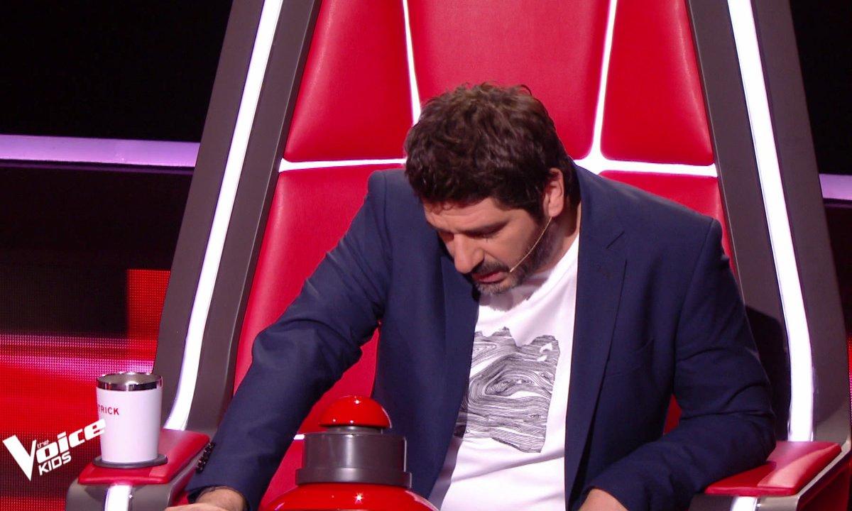 The Voice Kids 2020 - Patrick Fiori bouleversé par la prestation de Samvel