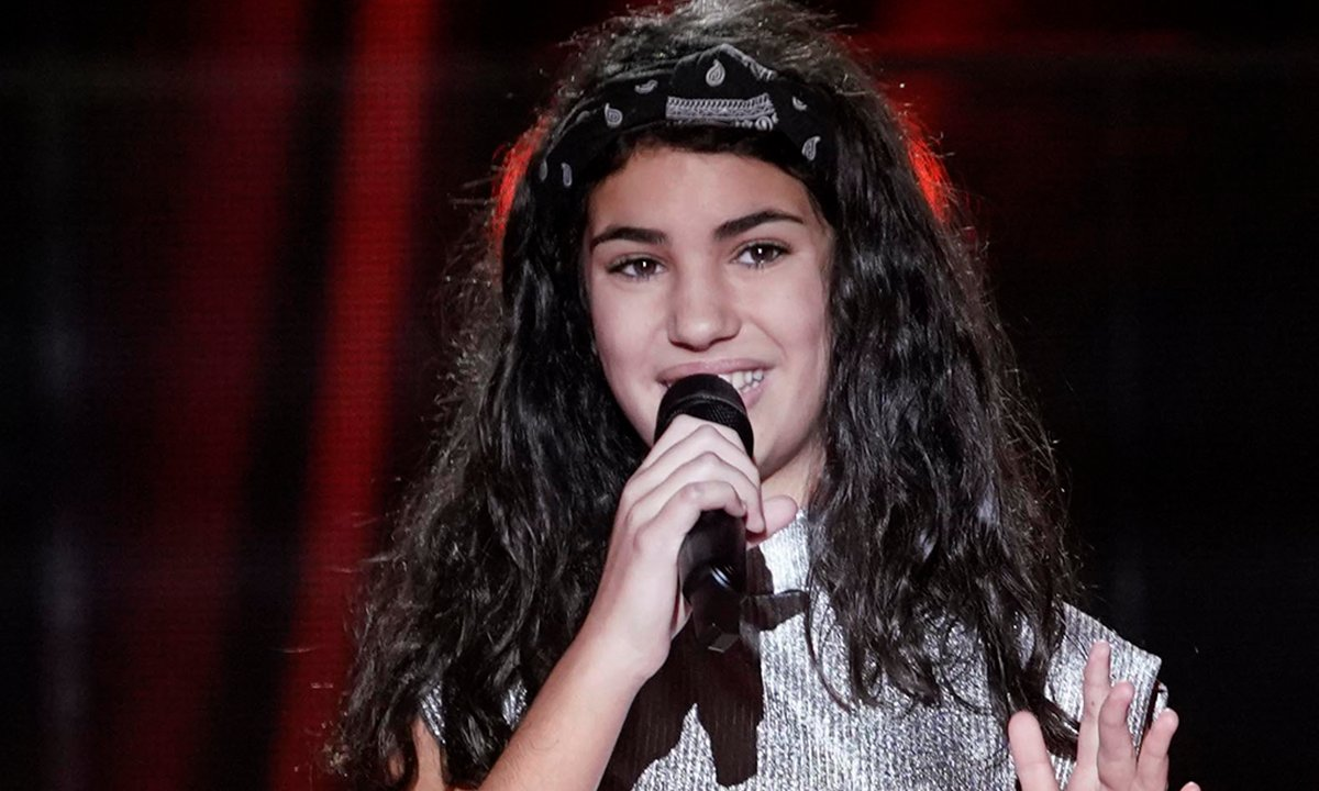 "The Voice Kids 2020 - Eva chante ""Tears dry on their own"" de Amy Winehouse"