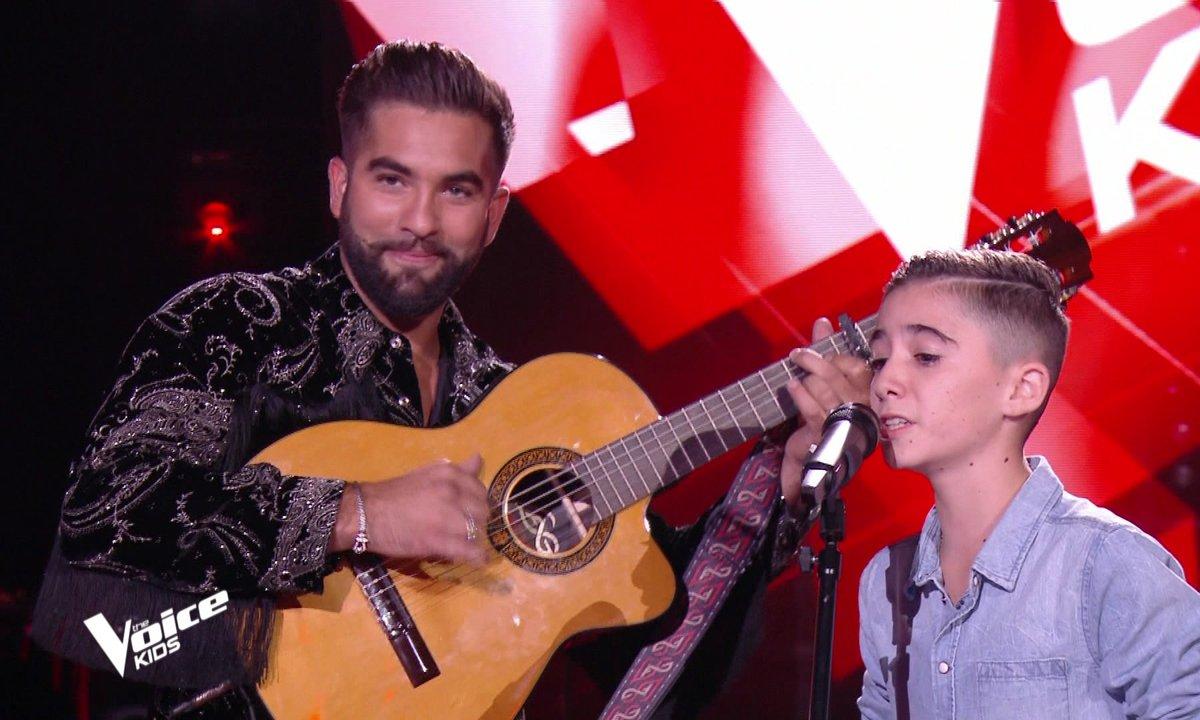 The Voice Kids 2020 - Tony réalise son rêve, un duo avec son idole Kendji Girac