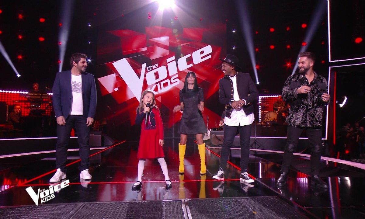 The Voice Kids - Lena fait danser les coachs