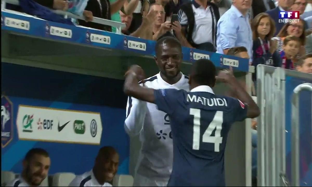 France 1 - 0 Serbie : le premier but de Matuidi