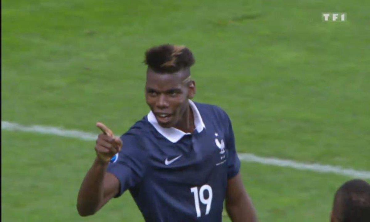 France  2 - 0 Portugal : le but de Pogba