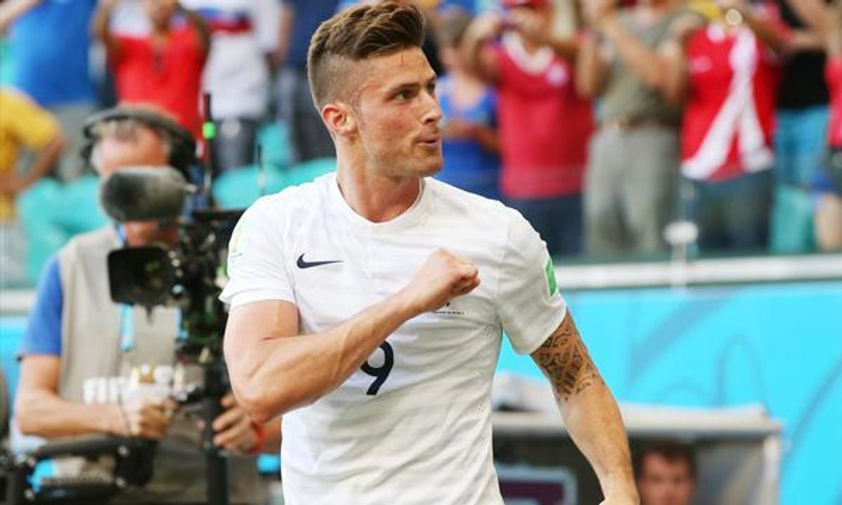Euro 2016 : Olivier Giroud, le buteur