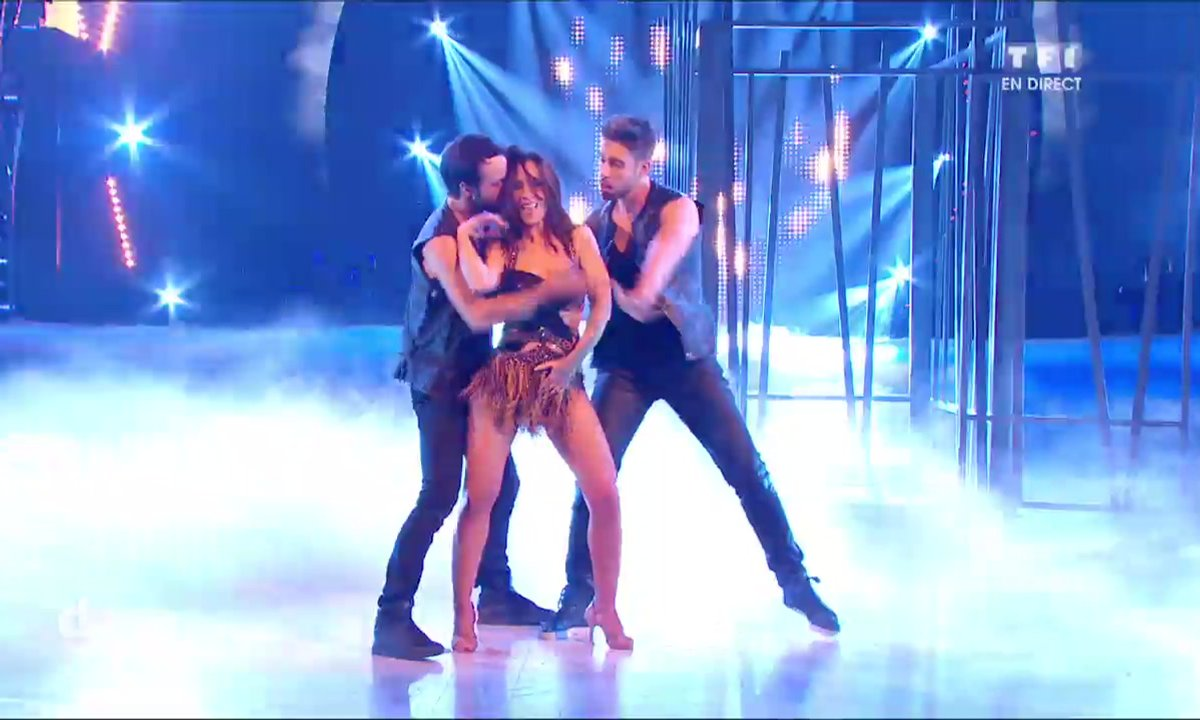 Un Cha Cha en trio pour Fabienne Carat, Julien et Gabin sur « Slave for you » (Britney Spears)