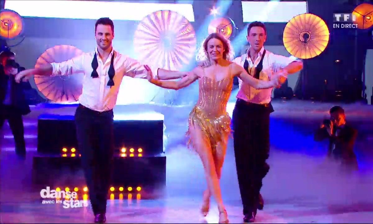Un Cha Cha en trio pour Véronic DiCaire, Christian et Maxime sur « I'm Every Woman » (Whitney Houston)