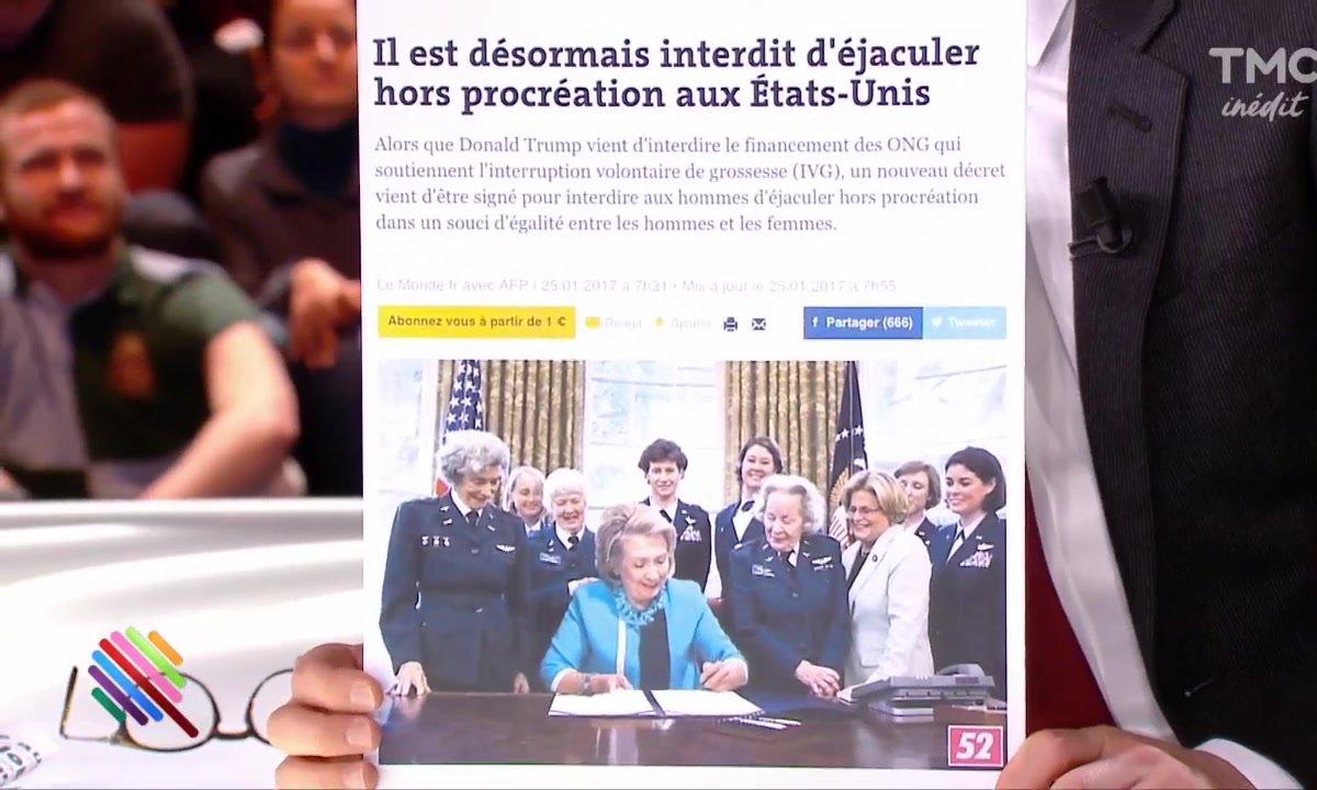 Un collectif féministe réagit aux lois anti-IVG de Trump