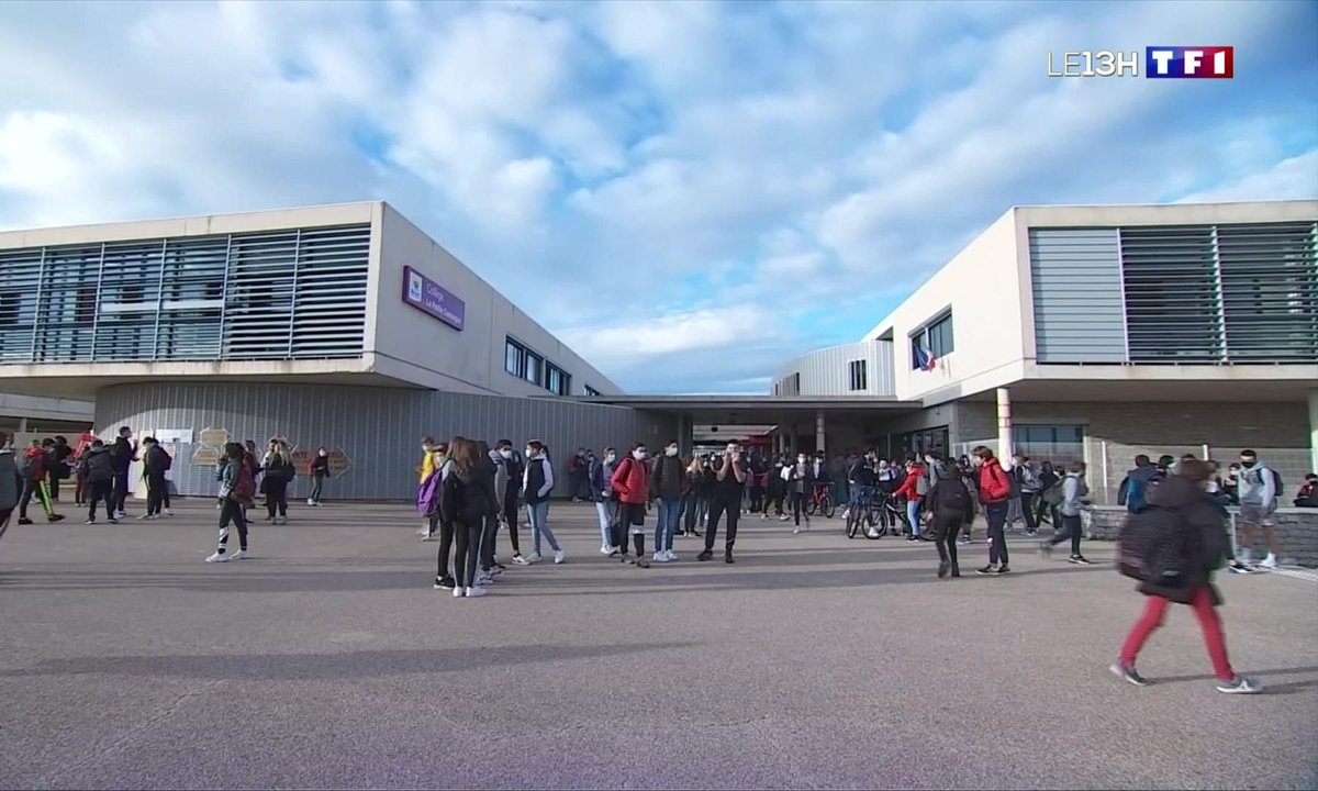 Un collège en grève contre le protocole sanitaire dans l'Hérault