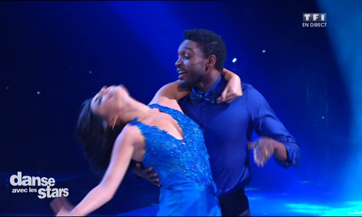 "Un Foxtrot pour Corneille  et Candice Pascal sur ""Let it Be "" (The Beatles)"