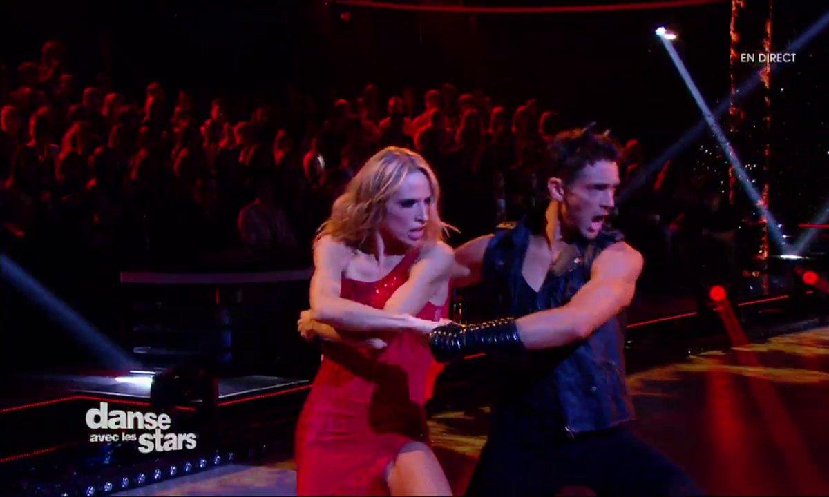 Un Paso Doble pour Tonya Kinzinger et Maxime Dereymez sur « La salsa du démon » sa chanson inavouable