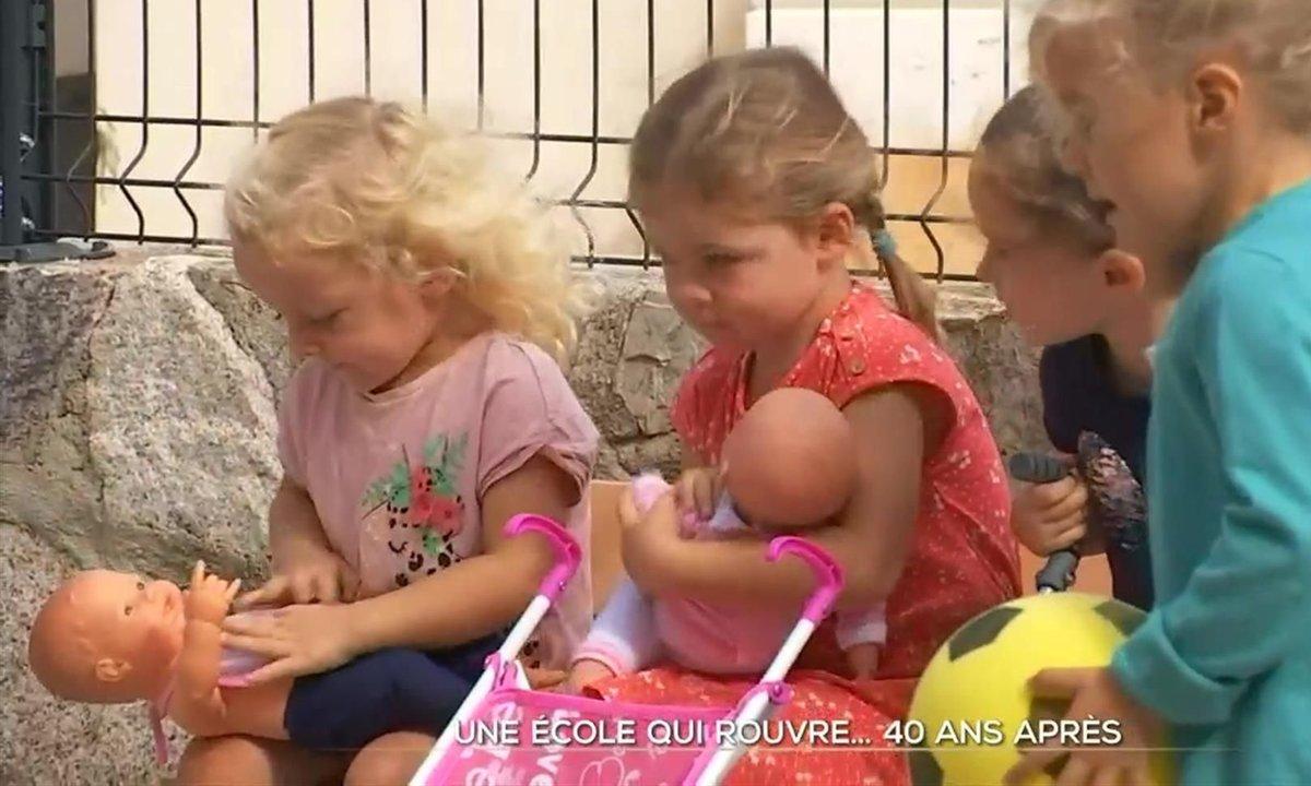 Un village corse retrouve son école fermée depuis 40 ans