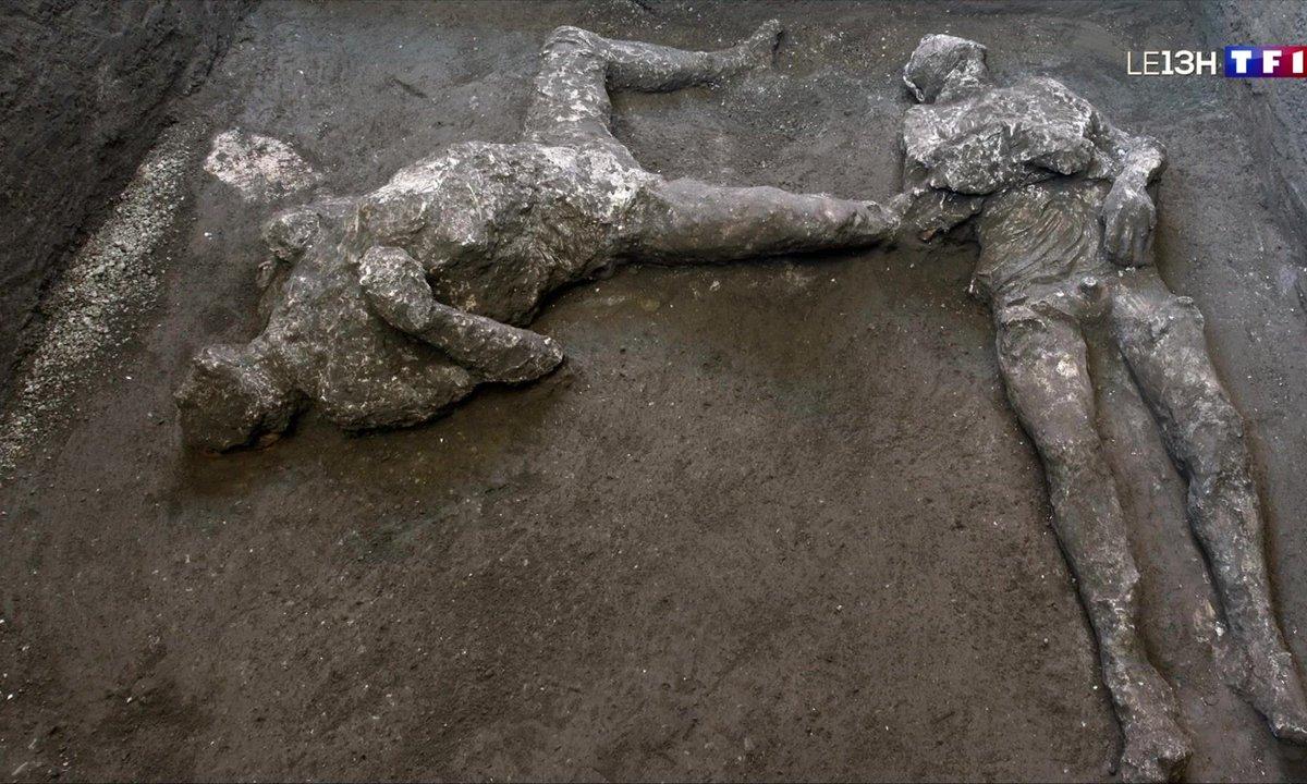 Une découverte émouvante à Pompéi en Italie