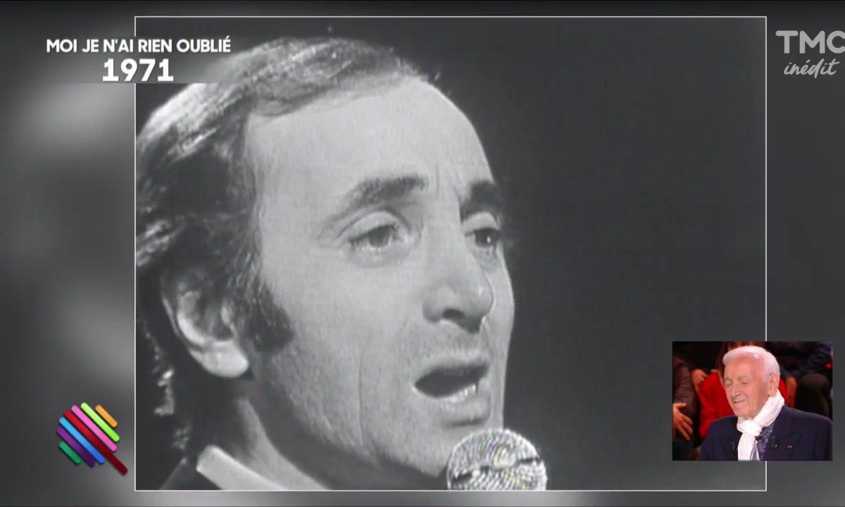 Une histoire d'amour chantée par Charles Aznavour