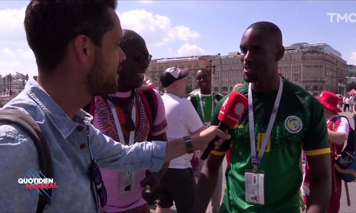 Une journée avec les supporters sénégalais en Russie