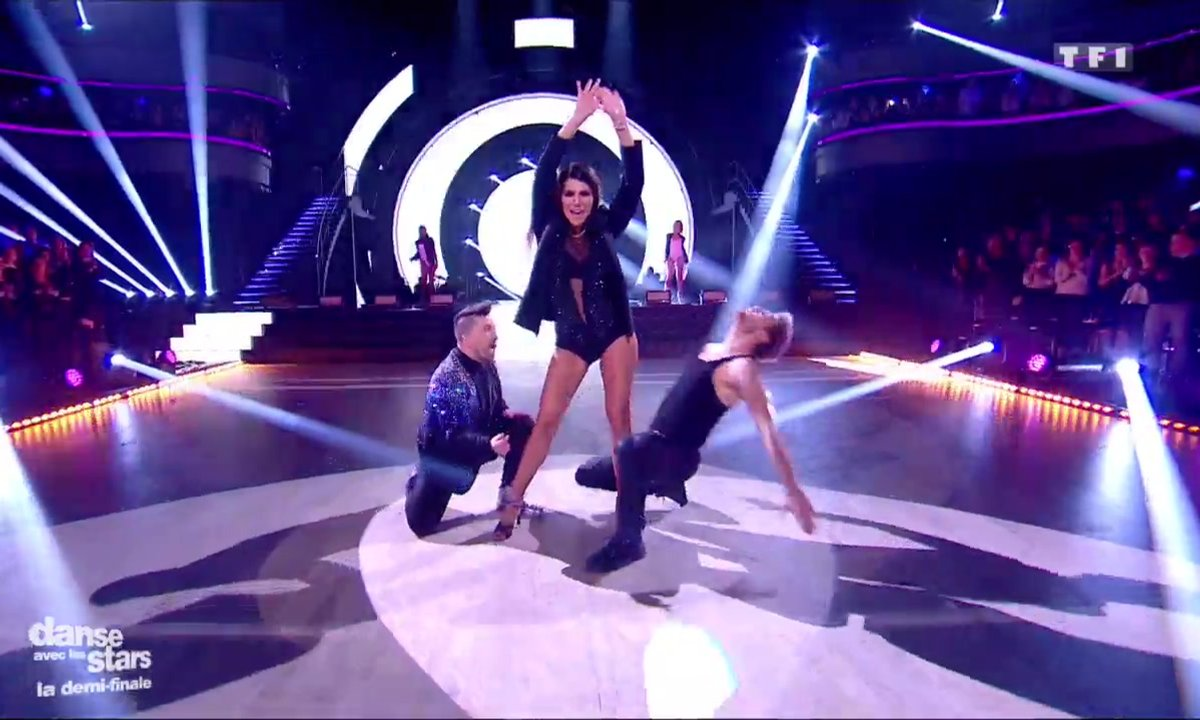 Karine Ferri et Yann-Alrick avec Chris Marquè, une salsa sur « Booty » (Jennifer Lopez)