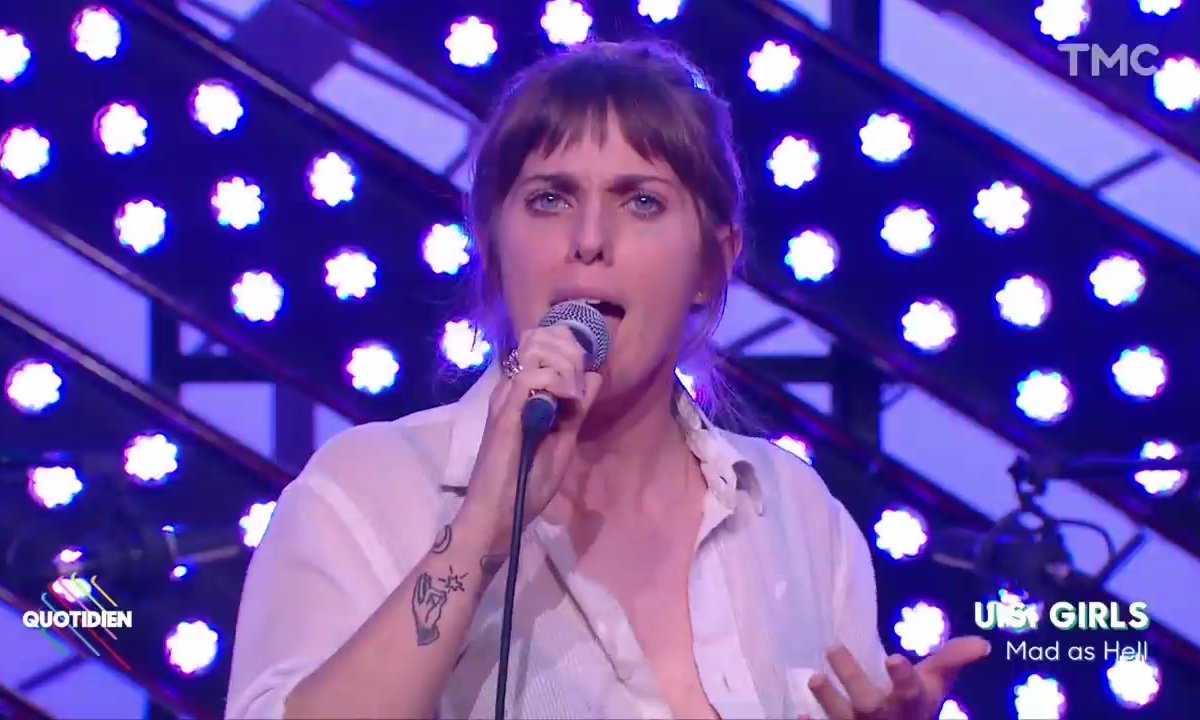 "US Girls : ""Mad as hell"" en live pour Quotidien"