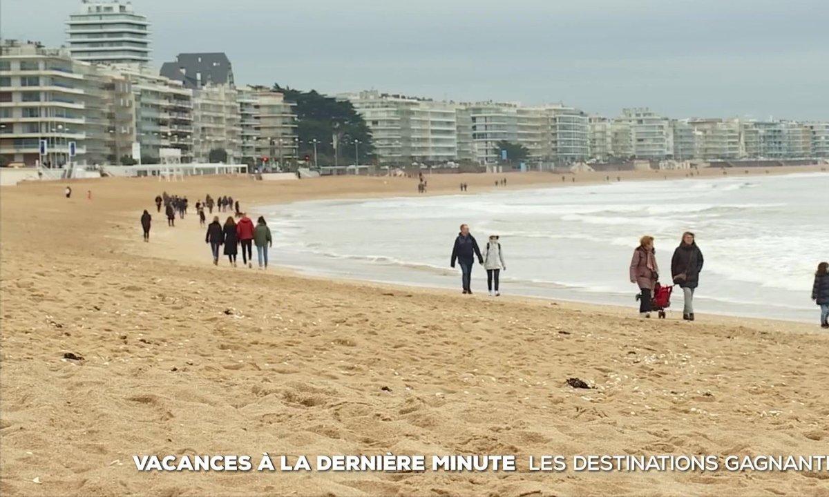 Vacances à la dernière minute : les destinations gagnantes