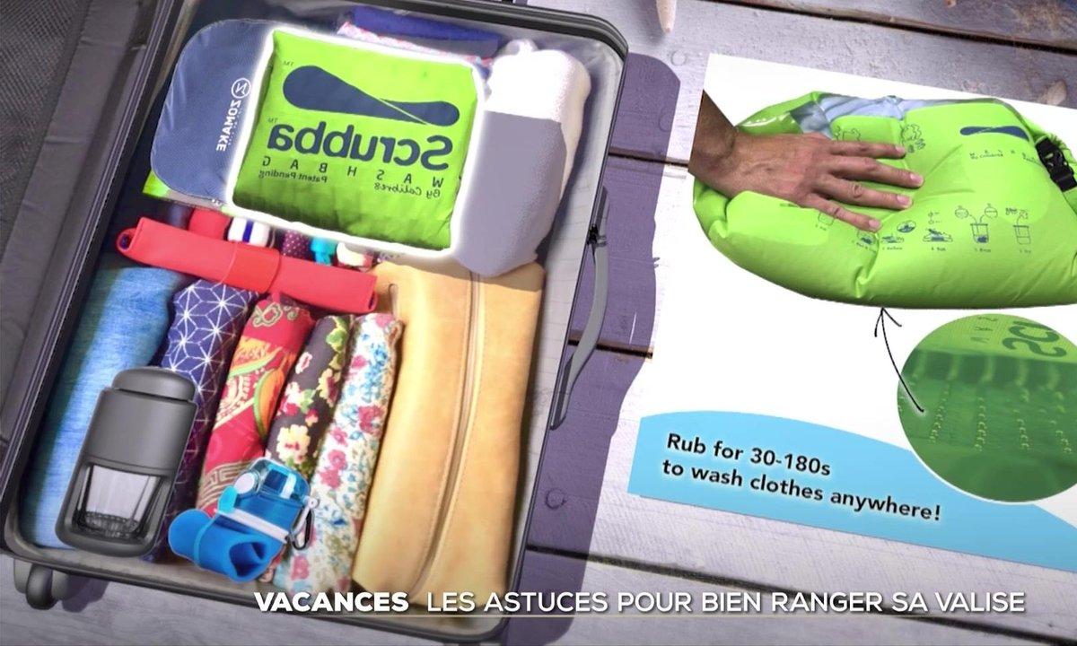 Vacances : les astuces pour bien ranger sa valise