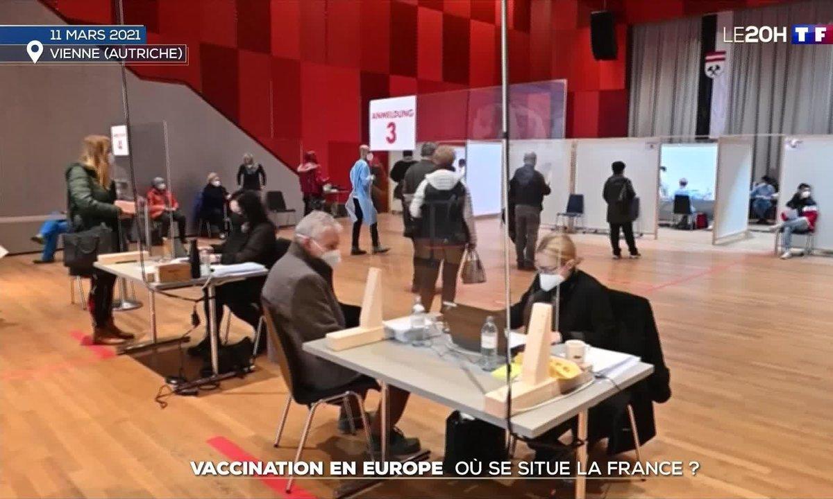 Vaccination en Europe : où se situe la France ?