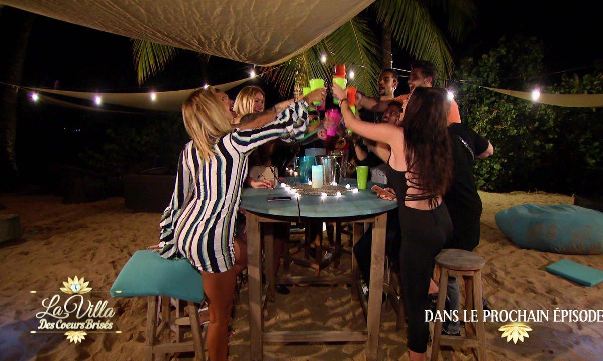 « Je vais te faire baisser de trois étages » : soirée tentation et règlements de compte dans l'épisode 3 de La Villa 4