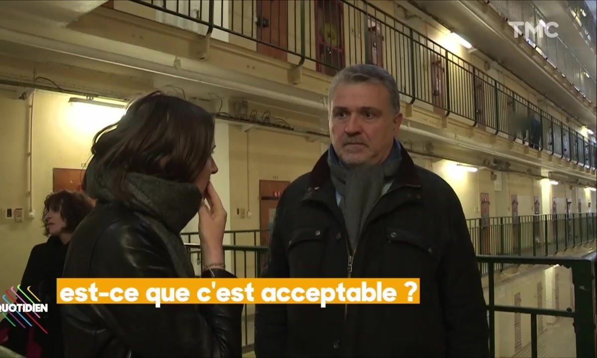 Valentine Oberti : Reportage au coeur de la prison de Fresnes