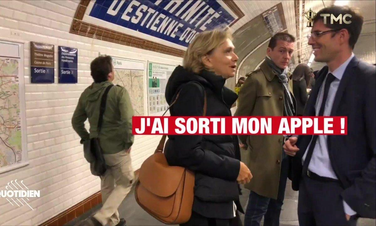Valérie Pécresse, dernière victime de la com' politique dans le métro