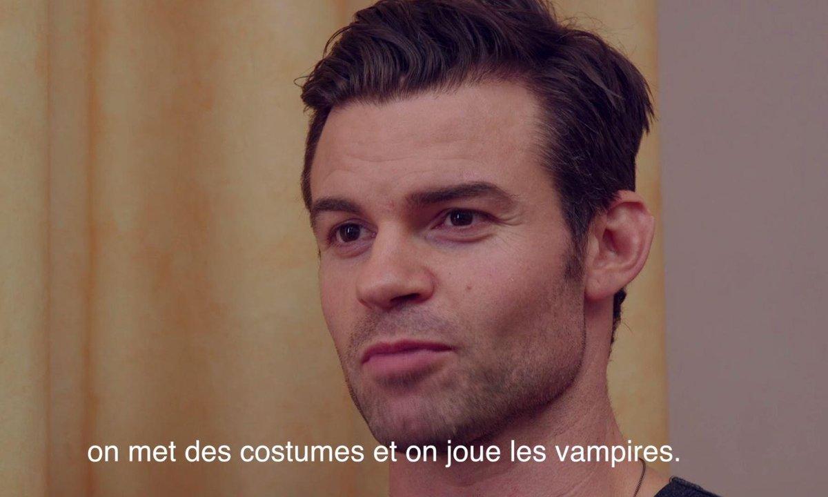 """Vampire Diaries : """"Je ris beaucoup des scènes qu'on tourne"""", confie Daniel Gillies"""
