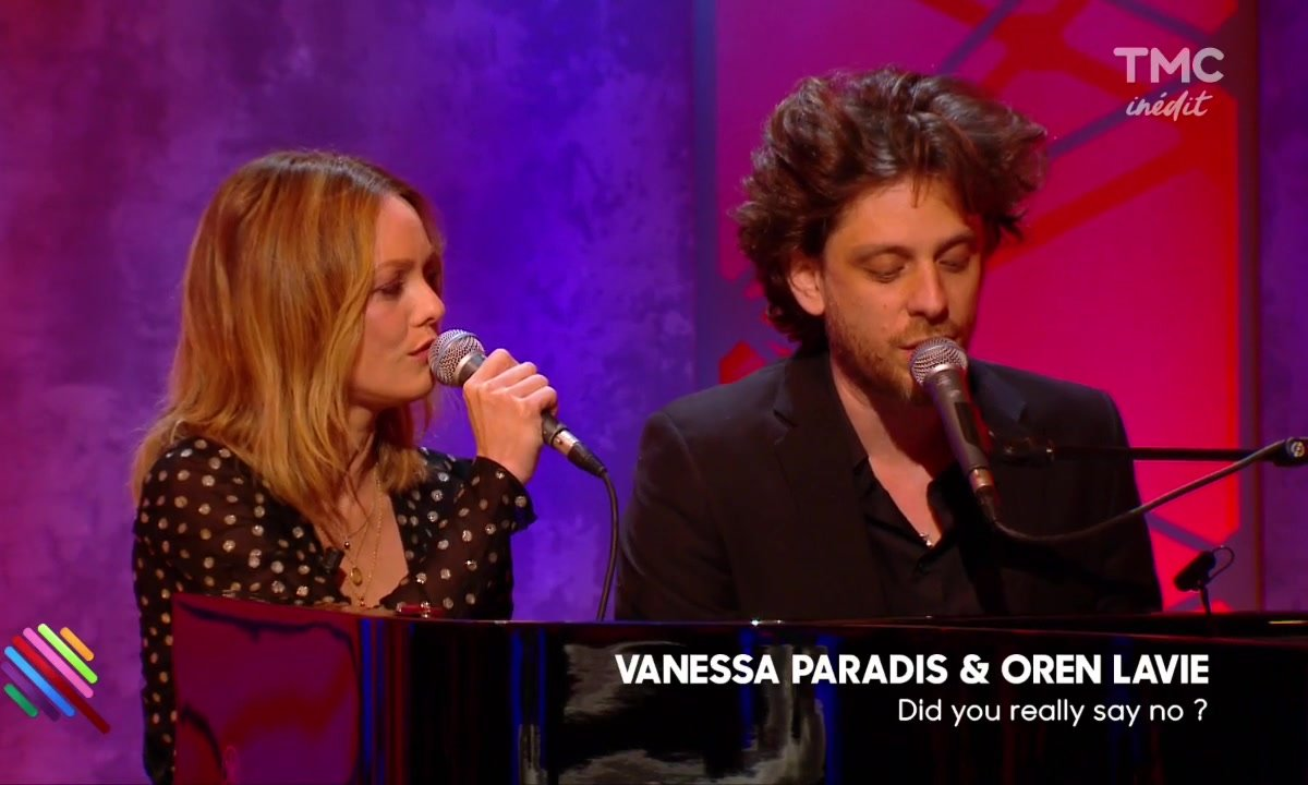 "Vanessa Paradis & Oren Lavie - ""Did you really say no"" en live dans Quotidien"