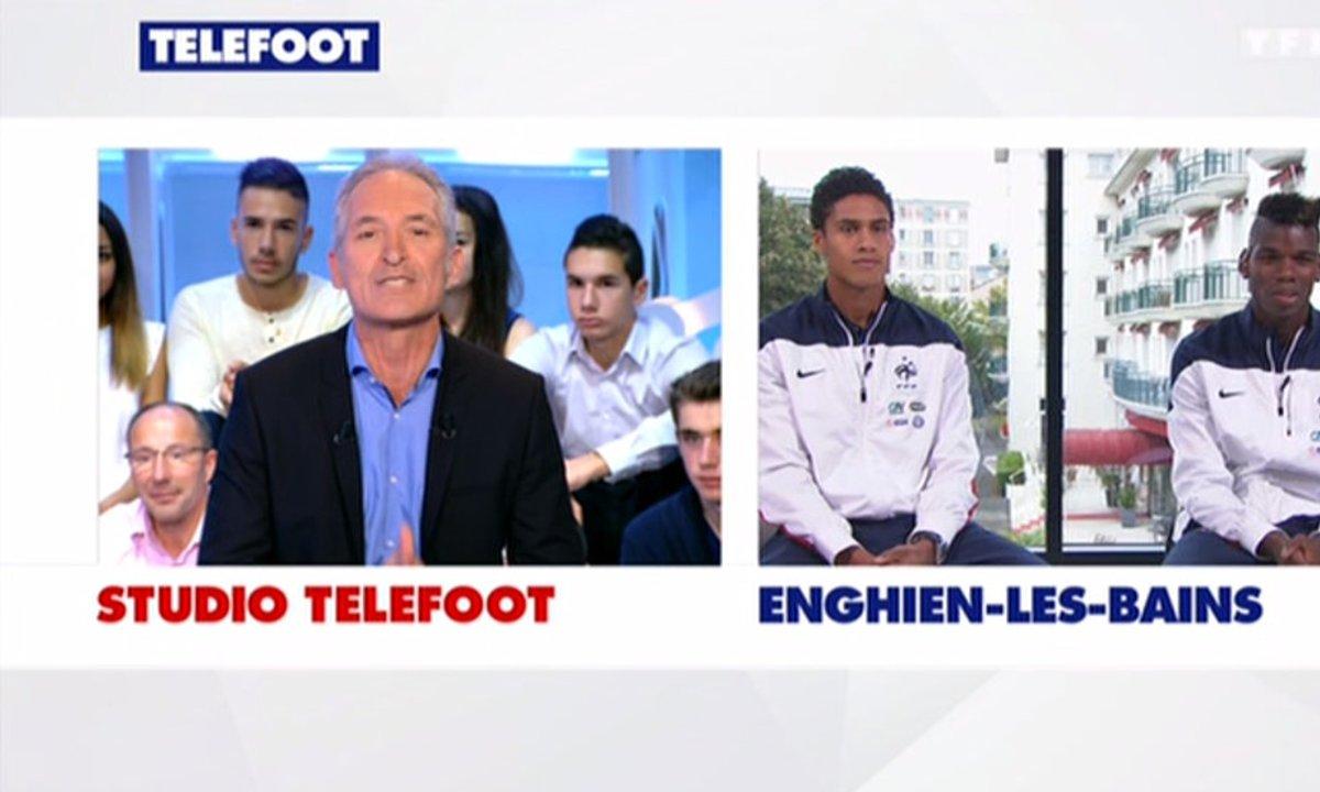 Equipe de France : en duplex Varane et Pogba
