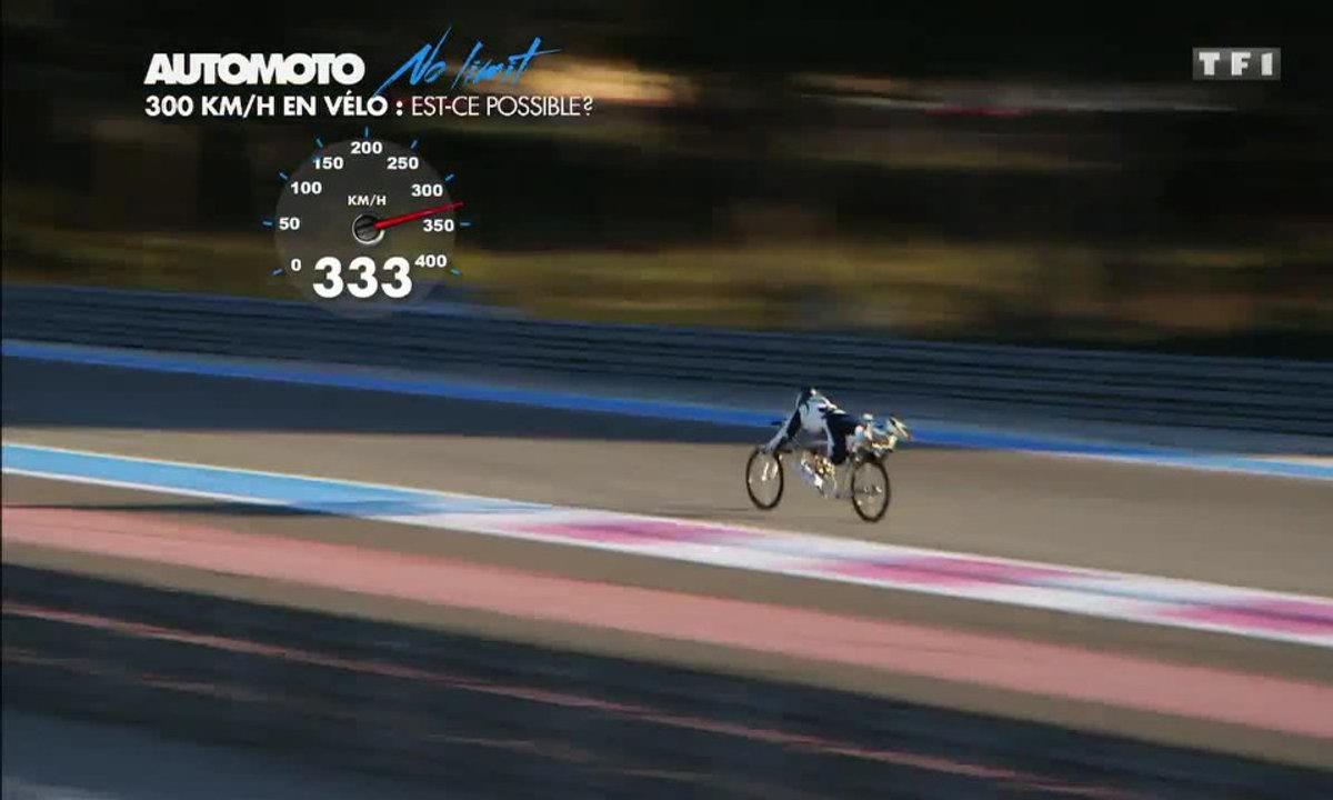 No limit : 333 km/h en vélo-fusée !