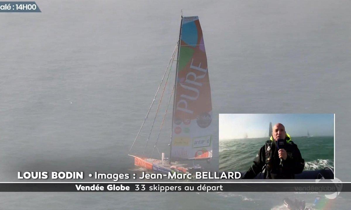 Vendée Globe 2020 - replay du dimanche 8 novembre 2020 12h57