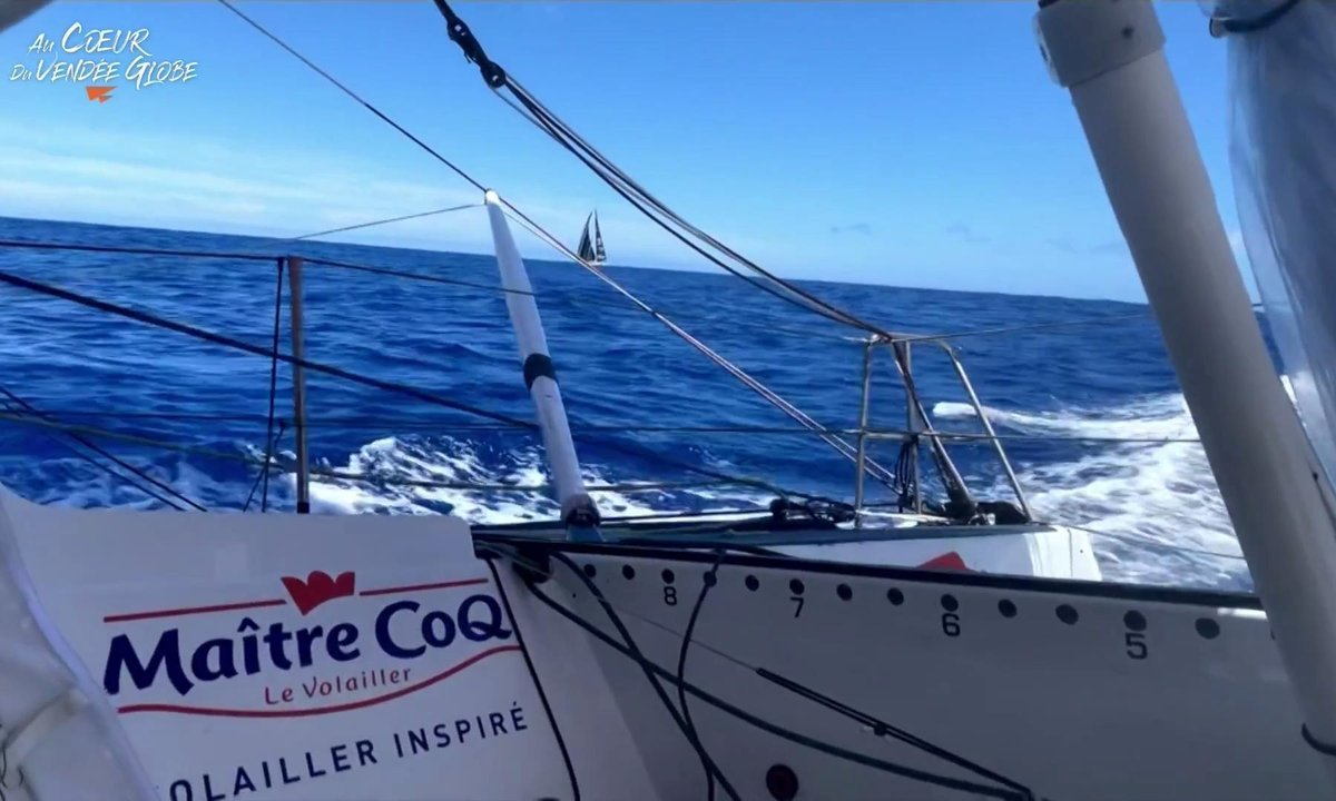 Vendée Globe 2020 - replay du mercredi 25 novembre 2020 00h22