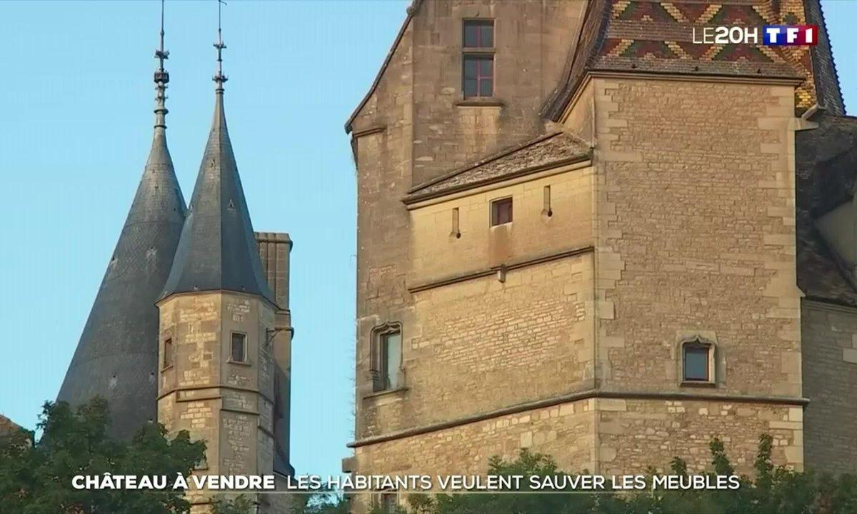 Vente aux enchères au château de La Rochepot : les habitants veulent sauver les meubles
