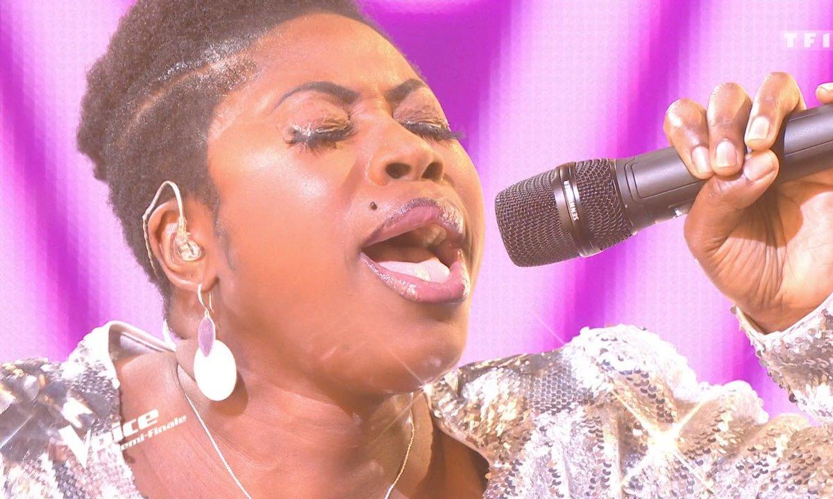"""THE VOICE 2020 – Verushka chante """"I will survive"""" de Gloria Gaynor (Demi-finale)"""