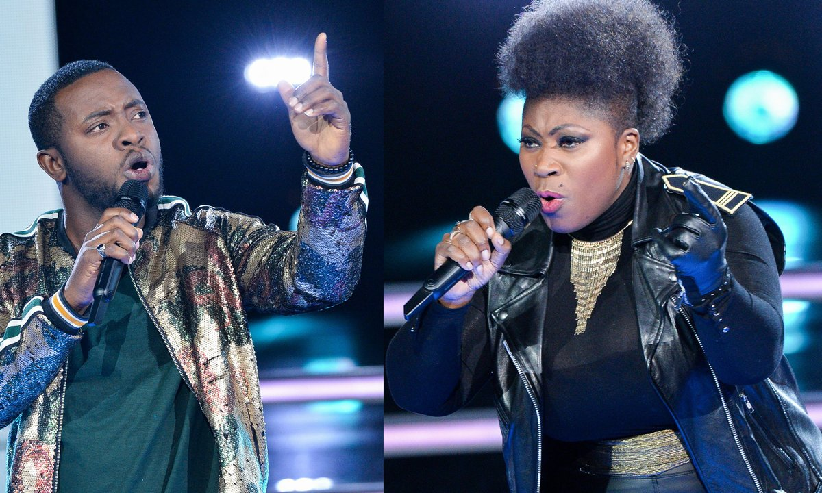 "The Voice 2020 - Verushka VS Samson interpretent ""Que je t'aime"" de Johnny Hallyday"