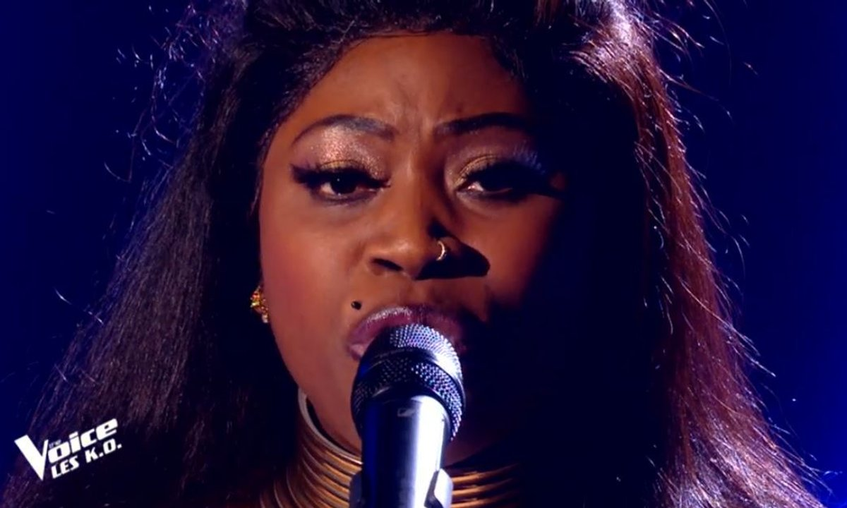 "THE VOICE 2020 – Verushka chante ""Total eclipse of the heart"" de Bonnie Tyler (KO)"