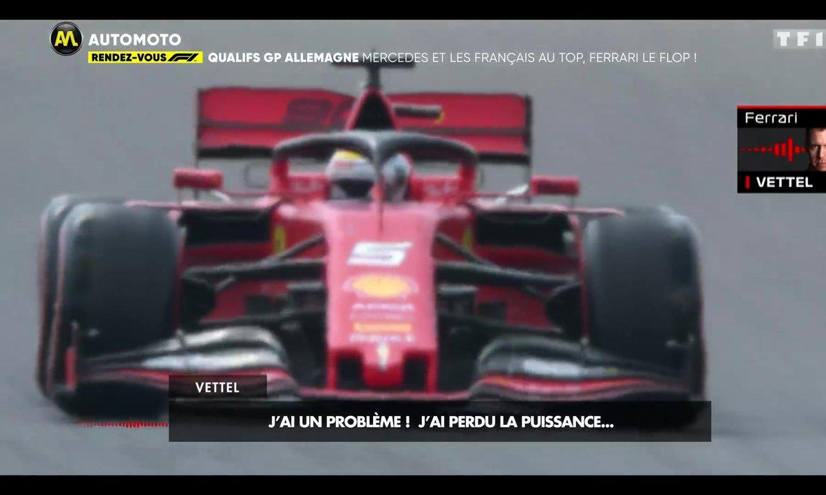 Rendez-vous F1 - Qualifs GP Allemagne : Mercedes et les Français au top, Ferrari le flop !