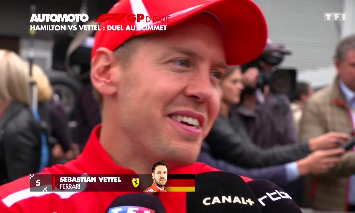 F1 - GP d'Italie : Hamilton vs Vettel, duel au sommet