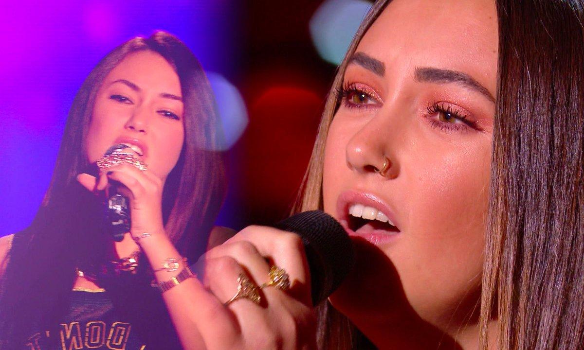 """The Voice All Stars – Victoria Adamo chante """"Mourir sur scène"""" de Dalida"""