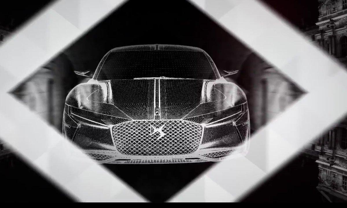 E-Tense, le concept-car de coupé GT électrisant de DS Automobiles
