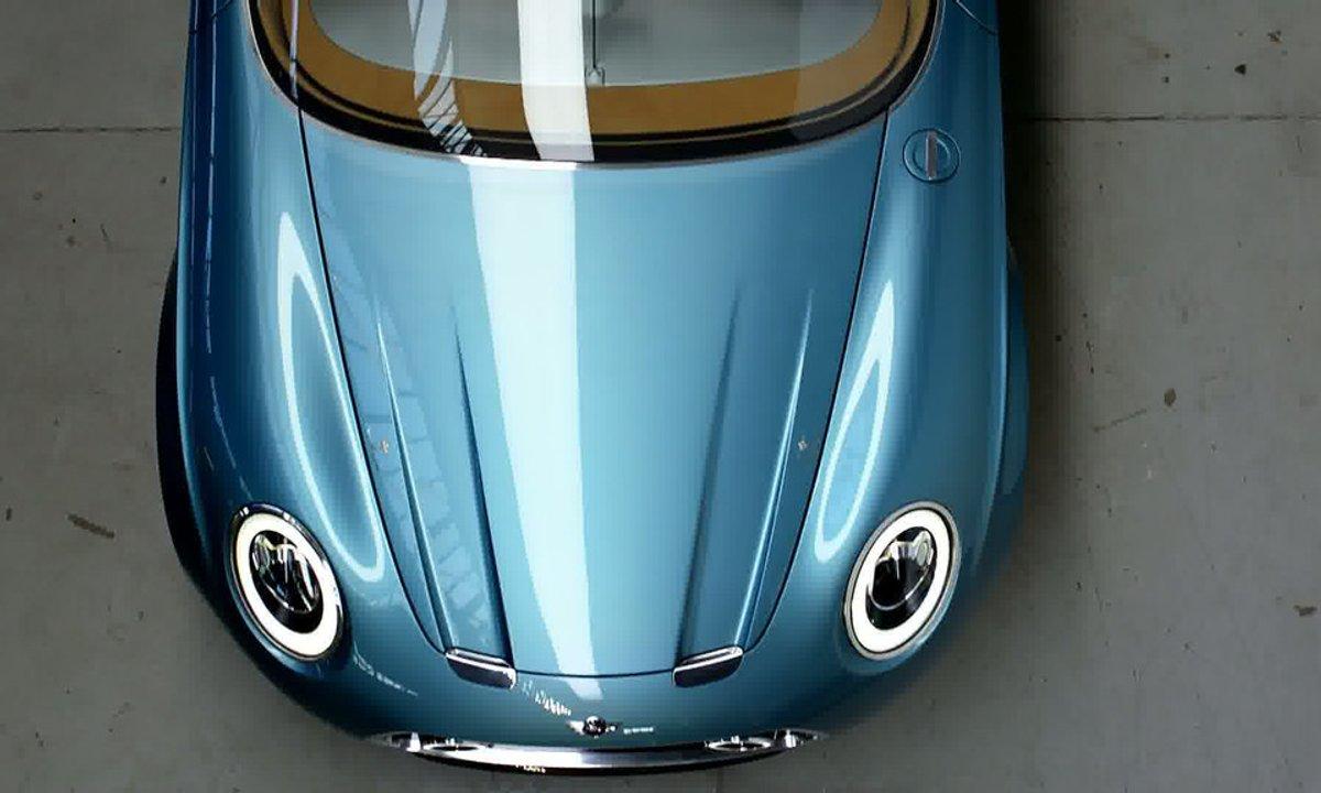 MINI Superleggera Vision Concept 2014 : présentation officielle