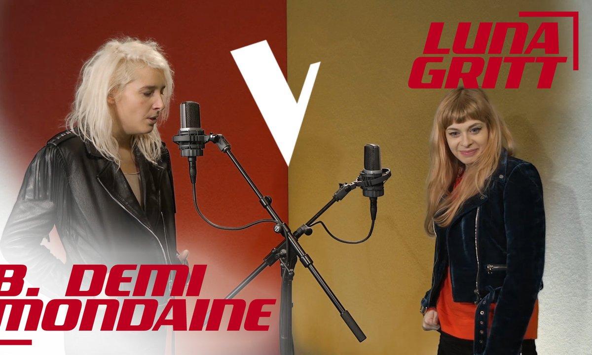 La Vox des talents : Luna Gitt vs D. Demi-Mondaine   L'hymne à l'amour   Edith Piaf
