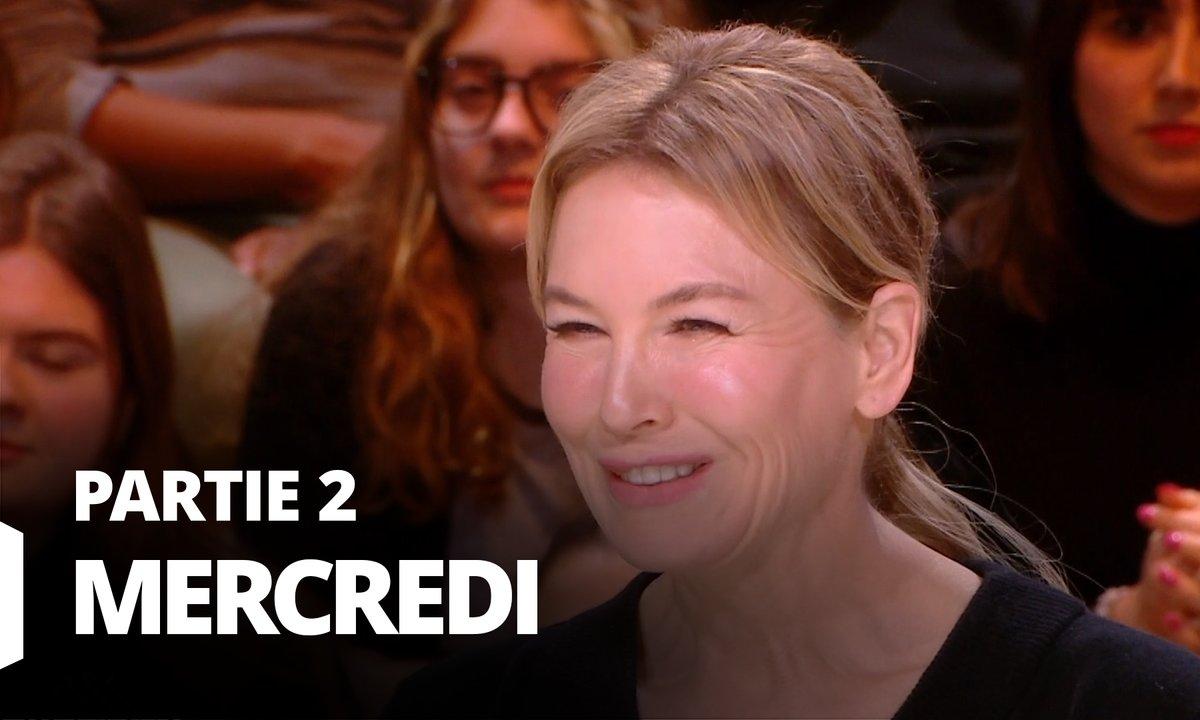 Quotidien, deuxième partie du 5 février 2020 avec Renée Zellweger, Marion Cotillard et Jean-François Julliard