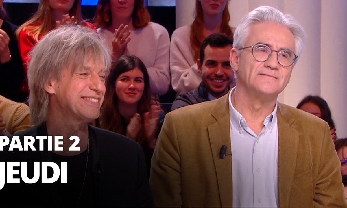 Quotidien, deuxième partie du 6 février 2020 avec André Comte-Sponville et Jean-Louis Aubert
