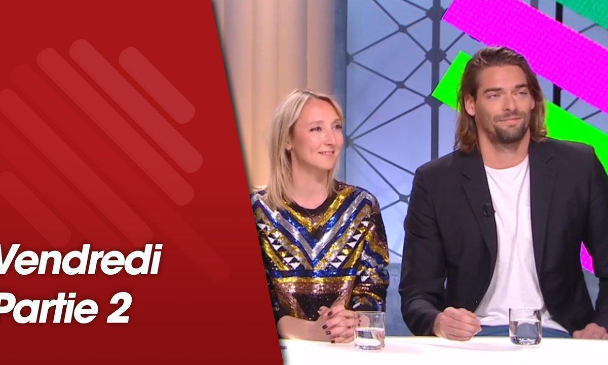 Quotidien, deuxième partie du 8 mars 2019 avec Audrey Lamy, Cécile de France,Yolande Moreau et Camille Lacourt